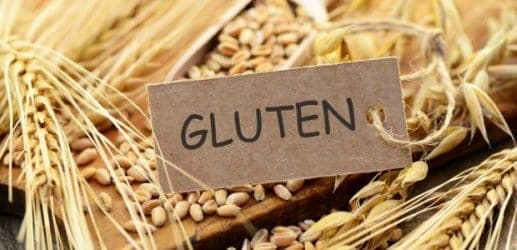 granos que contienen gluten