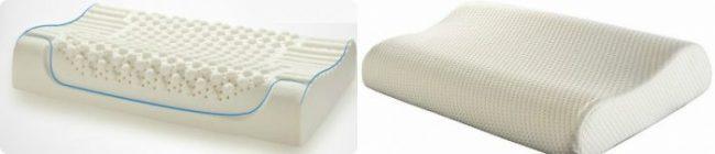 2 tipos de almohada