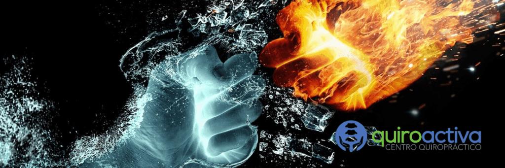crioterapia y la terapia de frio hielo