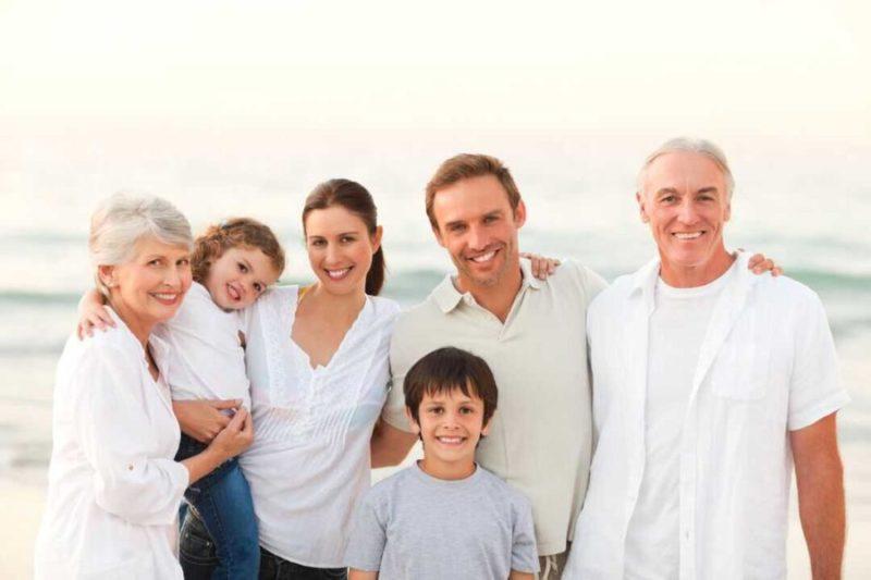 atendemos a familias de 3 generaciones