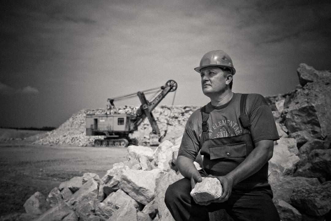 columna vertebral del minero